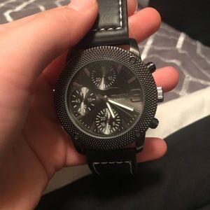 Men's Black Watch